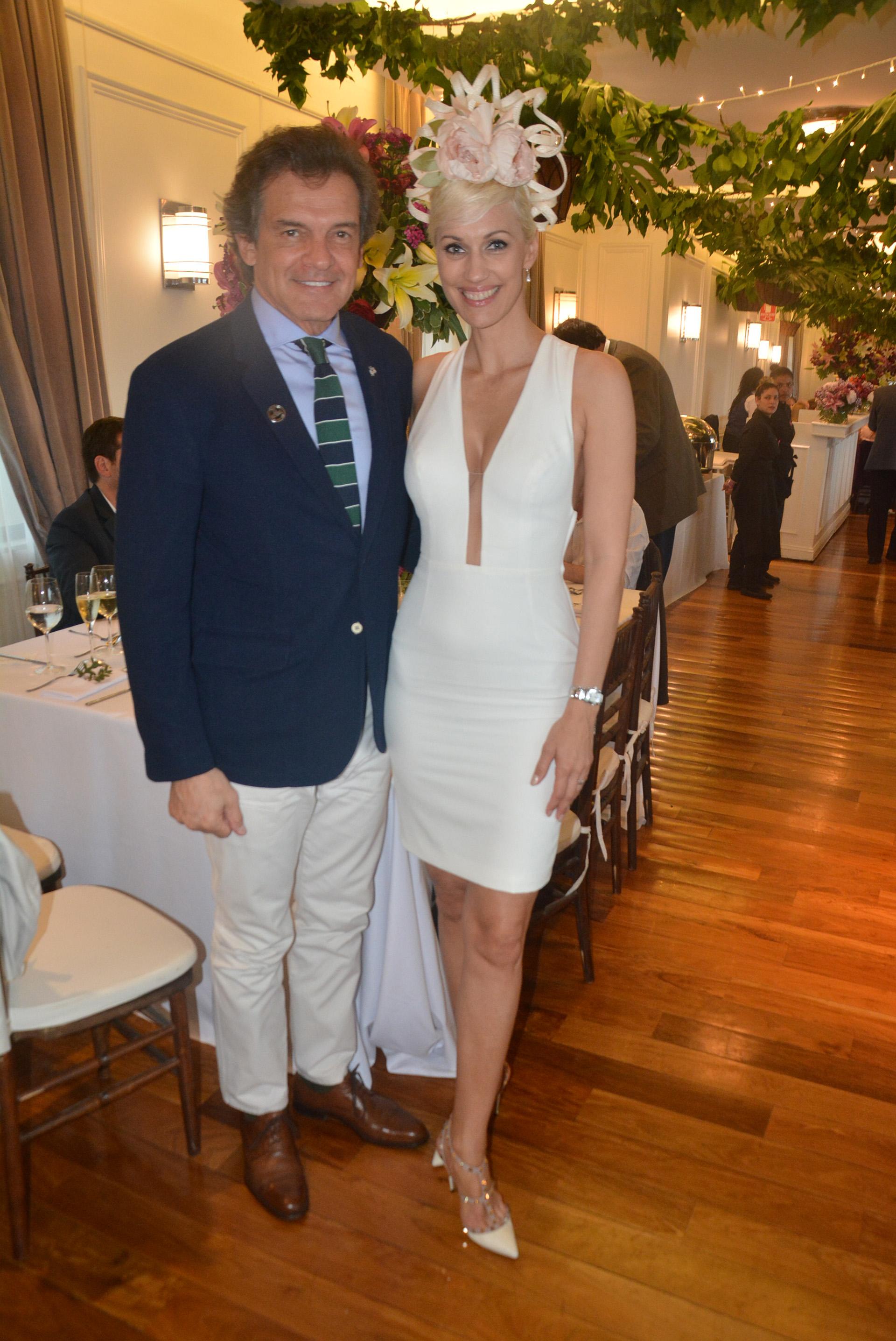 Claudio Rígoli e Ingrid Grudke