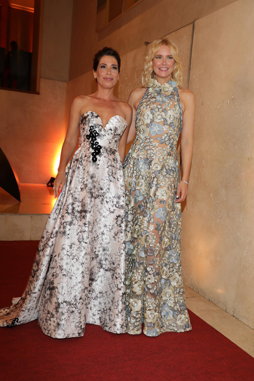 Dolores Cahen D'Anvers y Valeria Mazza