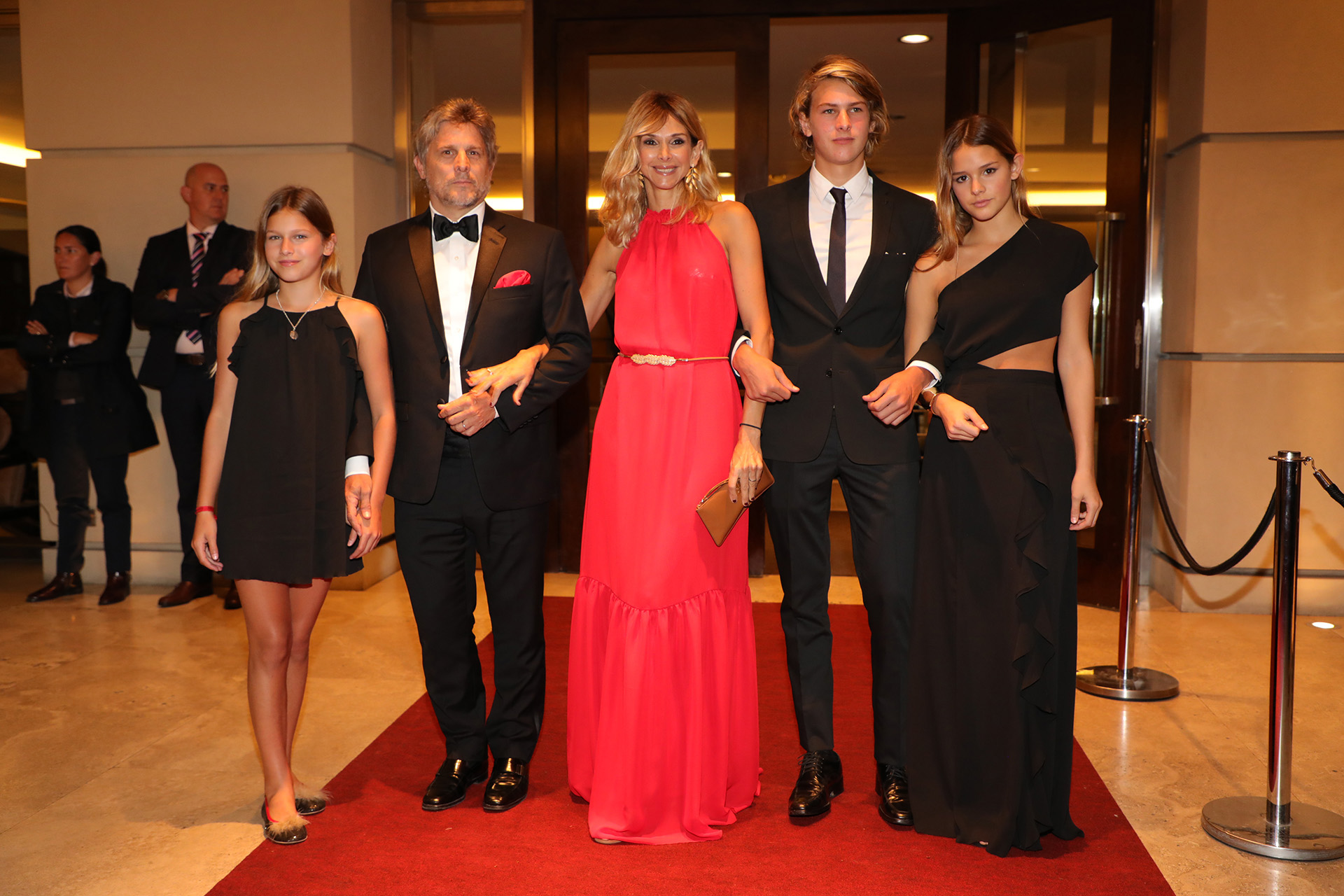 Vicky Fariña y Papo Roca en familia