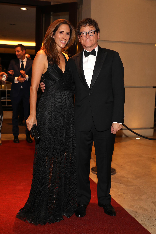 Gabriel Martino, presidente de HSBC Argentina, y su mujer Florencia Perotti
