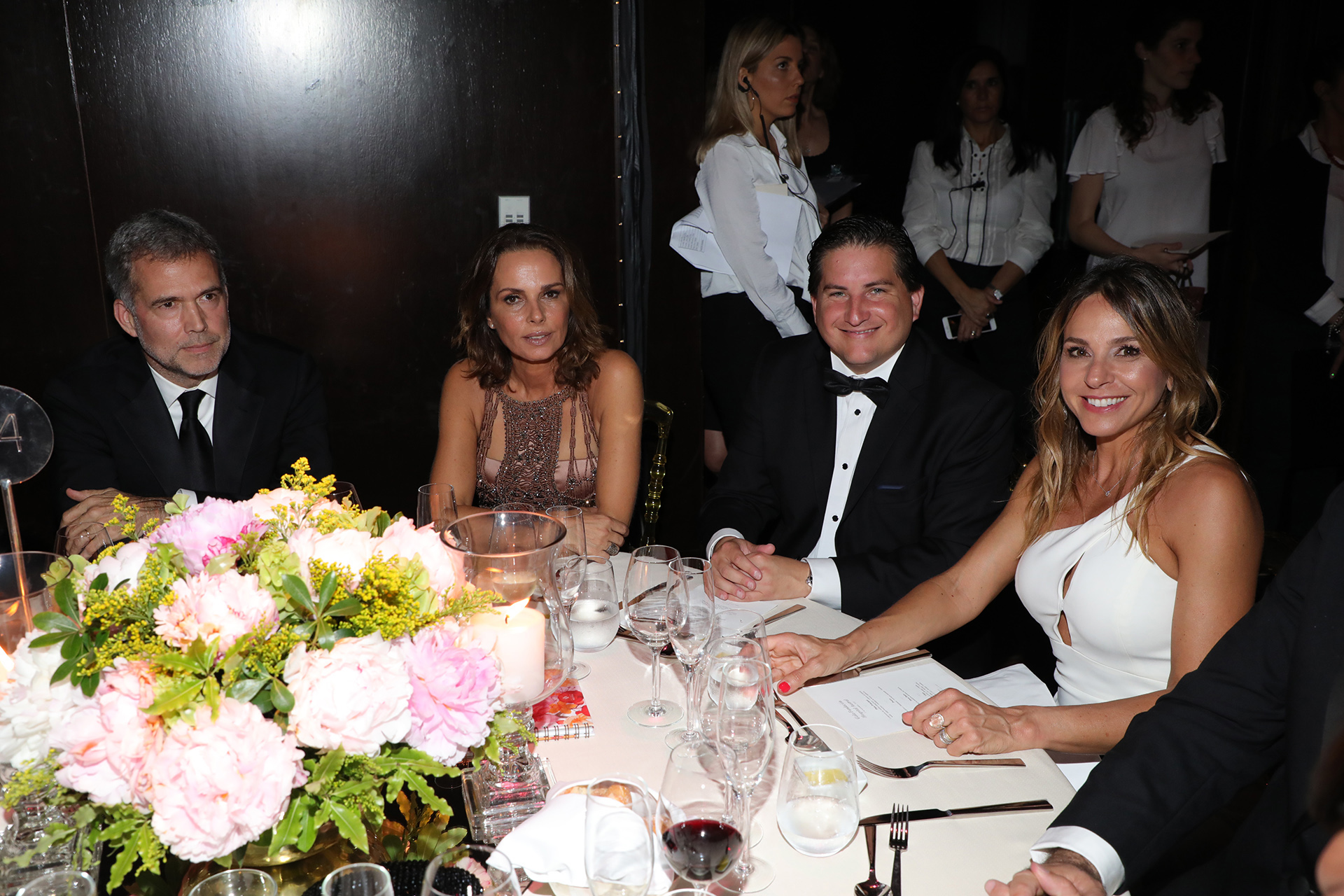 Augusto Rodríguez Larreta, Nathalie Sielecki, Gastón Corral y Soledad Urtubey