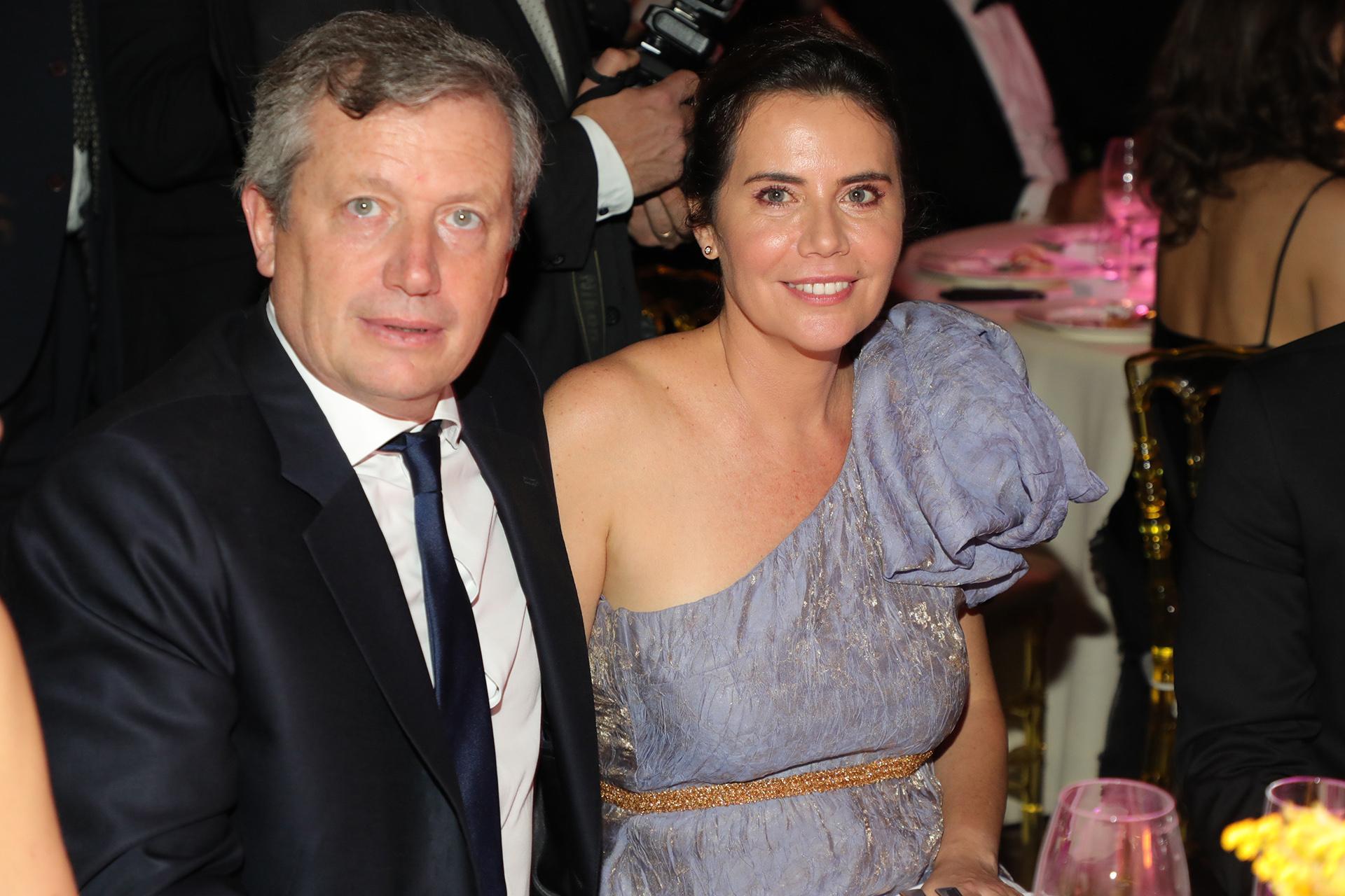 Emilio Monzó y su mujer Karen Sánchez
