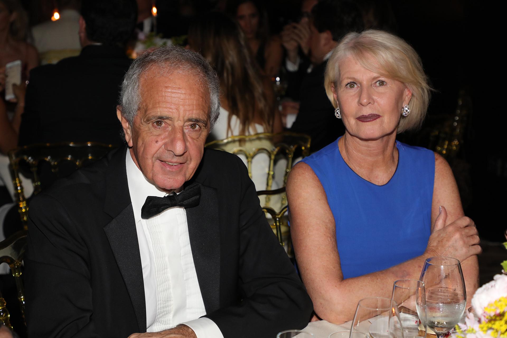 Rodolfo D'Onofrio y su mujer Patricia