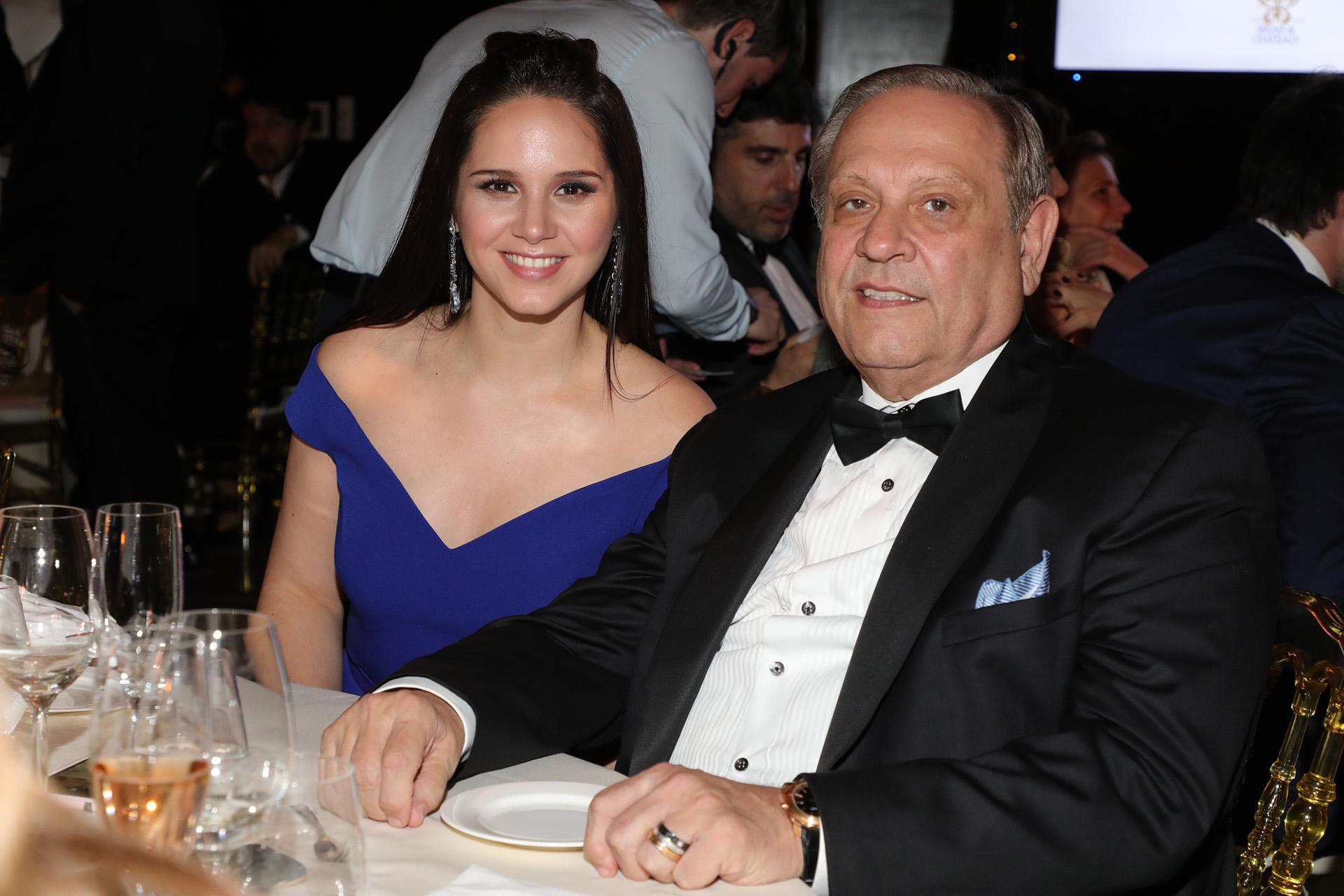 Natalí Márquez y Néstor Abatidaga