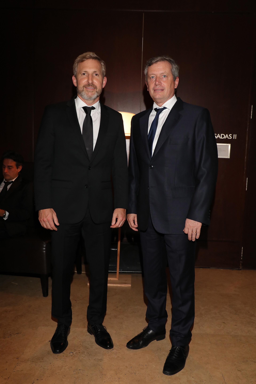 Rogelio Frigerio y Emilio Monzó