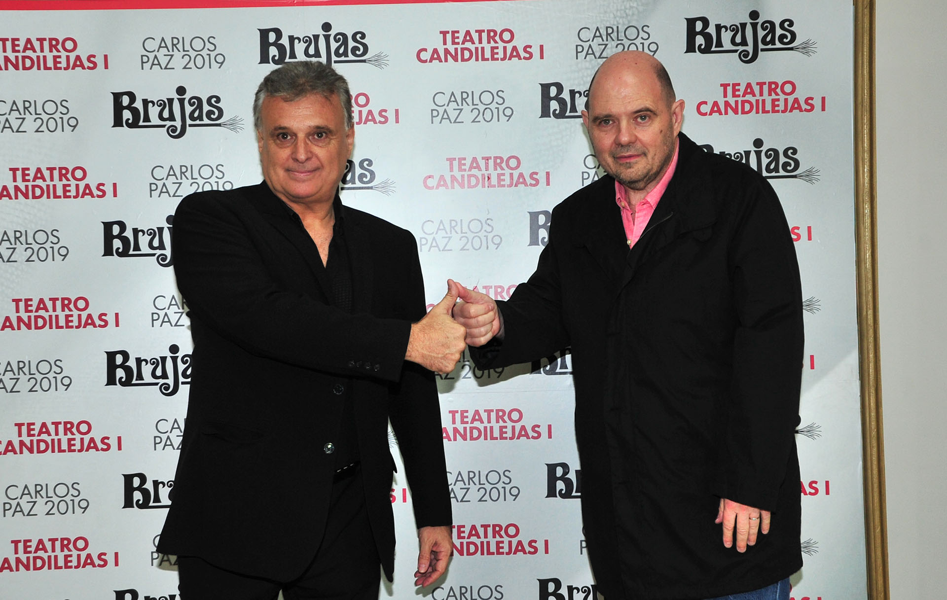 El productor Daniel Comba y el empresario Carlos Rottemberg