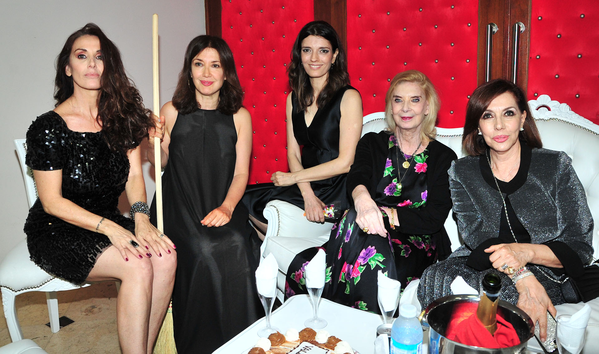 Viviana Saccone, Andrea Bonelli, María Socas, Graciela Dufau y Nora Cárpena
