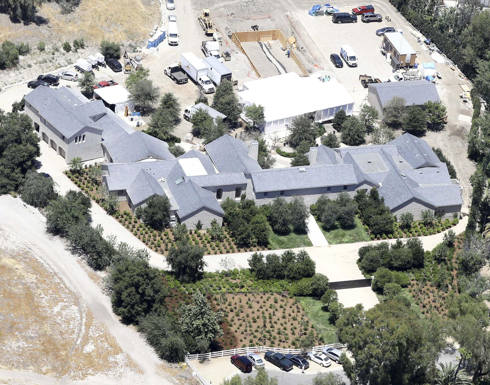 La mansión de Kim Kardashian y Kanye West está valuado en USD 60 milllones (The Grosby Group)