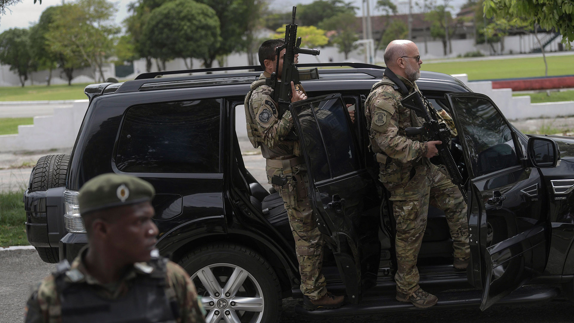 Un operativo militar está en marcha en escuelas de 27 estados de Brasil (AFP)