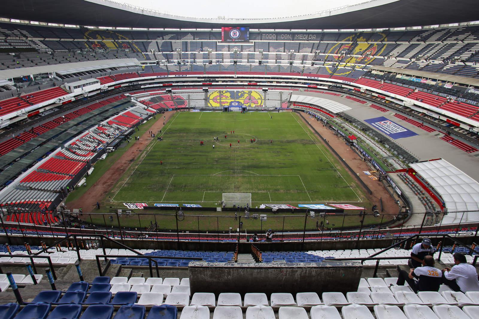 El Estadio Azteca fue el escenario de la singular petición (Foto: Especial)