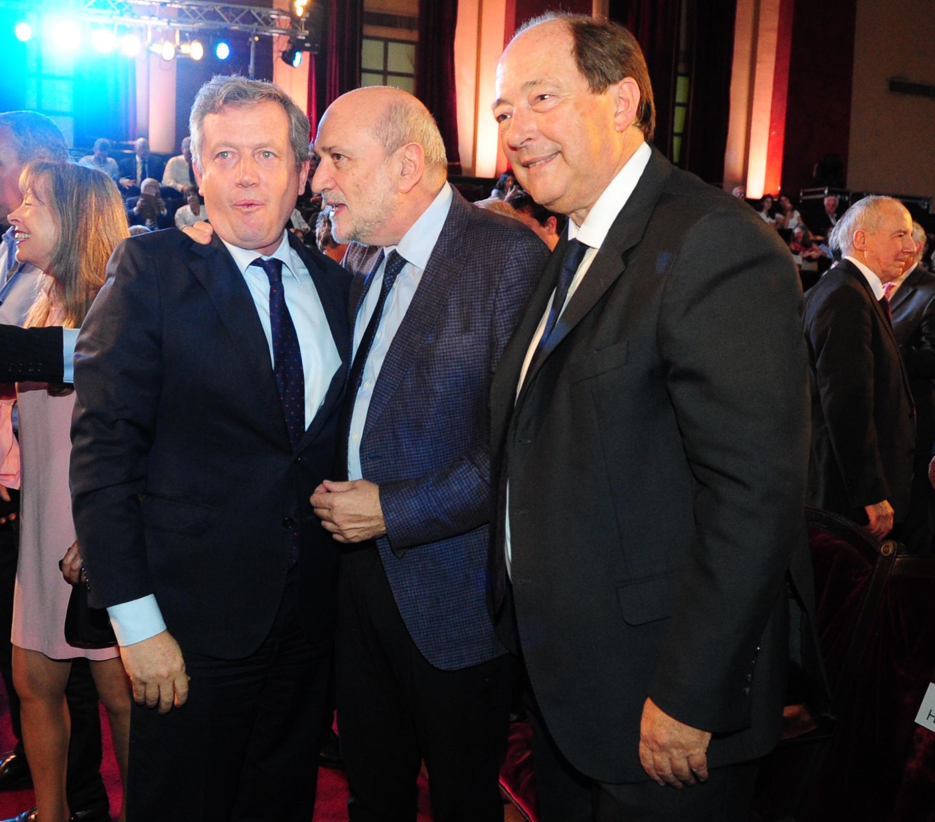 Emilio Monzó, Jesús Rodríguez y Ernesto Sanz