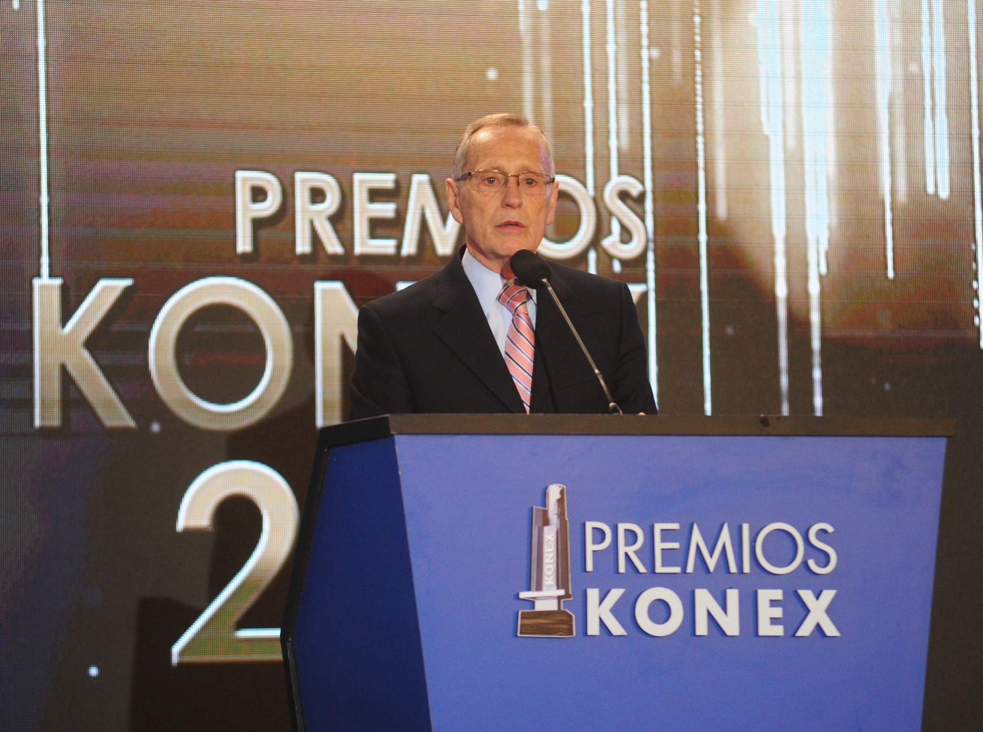 El presidente del Gran Jurado de los Premios Konex 2018: Instituciones-Comunidad-Empresa, Adalberto Rodríguez Giavarini