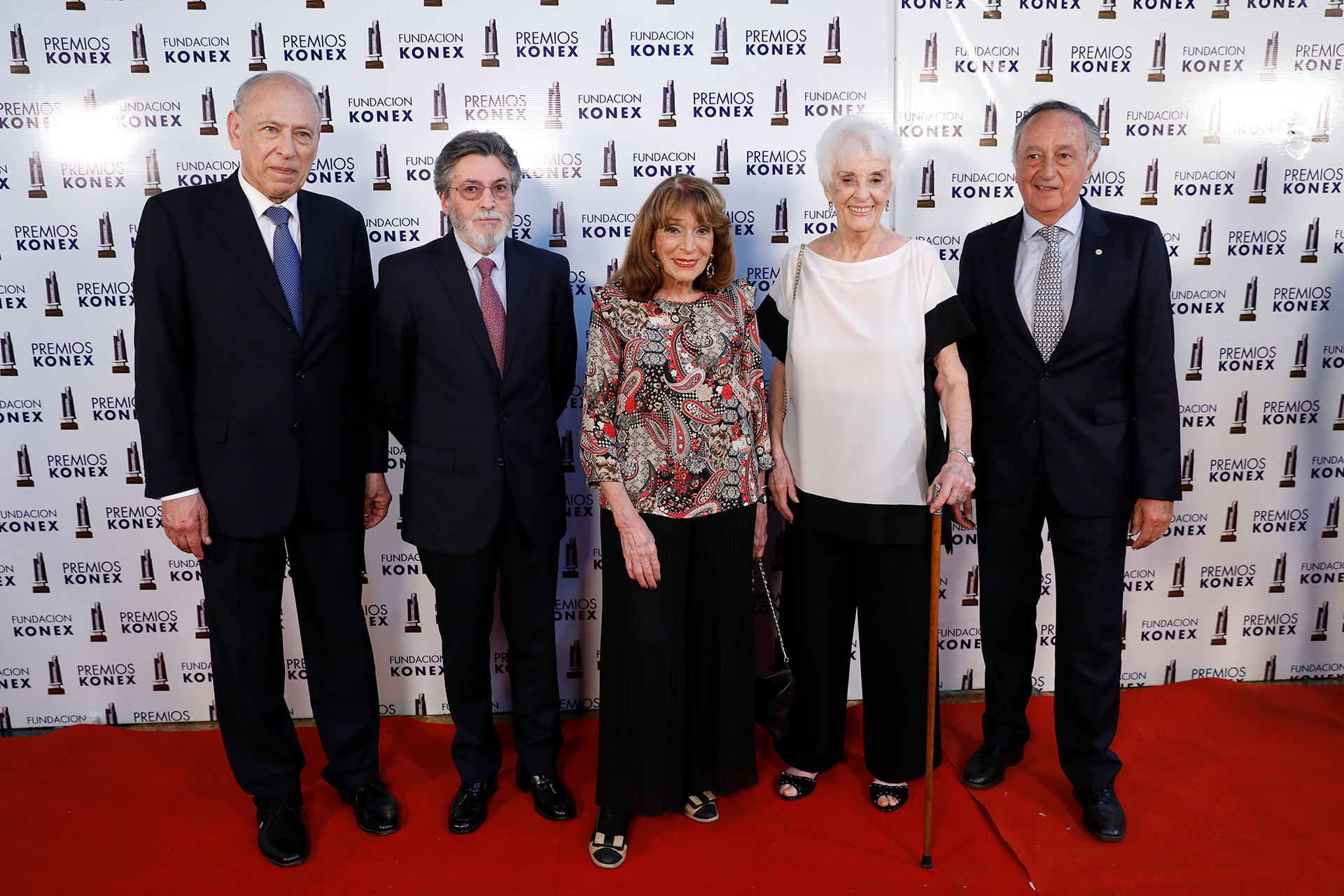 Luis Ovsejevich, Alberto Abad, Magdalena Ruiz Guiñazú, Graciela Fernández Meijide y Miguel Acevedo