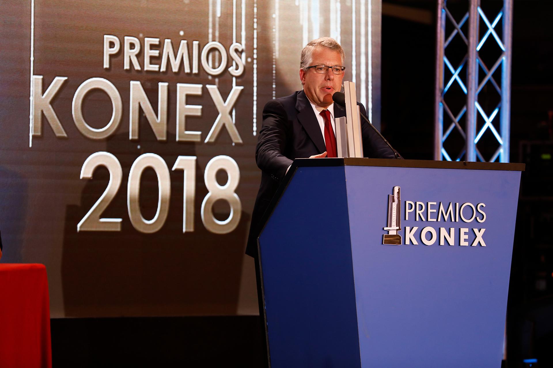 Sergio Kaufman: Konex de Platino – Ejecutivos del Comercio, de la Banca y de los Servicios