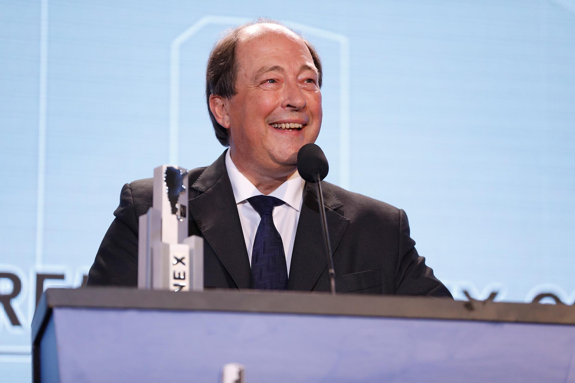Ernesto Sanz recordó al ex presidente Raúl Alfonsín durante su discurso