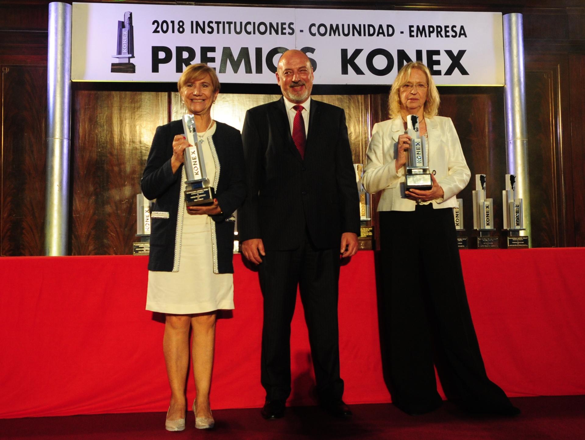 Premio Konex de Platino en la disciplina Magistrados para Hilda Kogan y María José Sarmiento