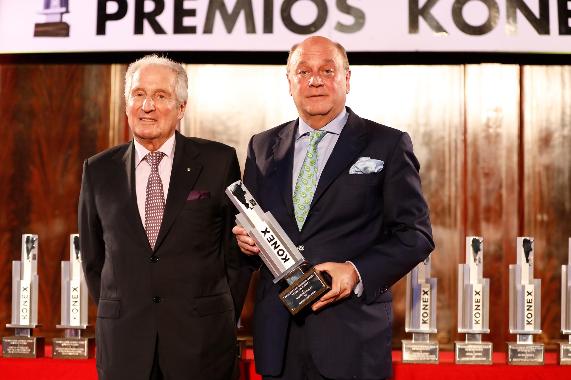 Martín Cabrales fue el ganador del Konex de Platino en la disciplina Empresarios PyME