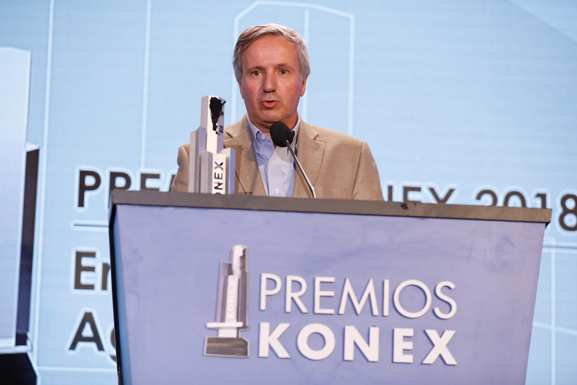 Gerardo Bartolomé: Premio Konex de Platino en la disciplina Empresarios de Agronegocios