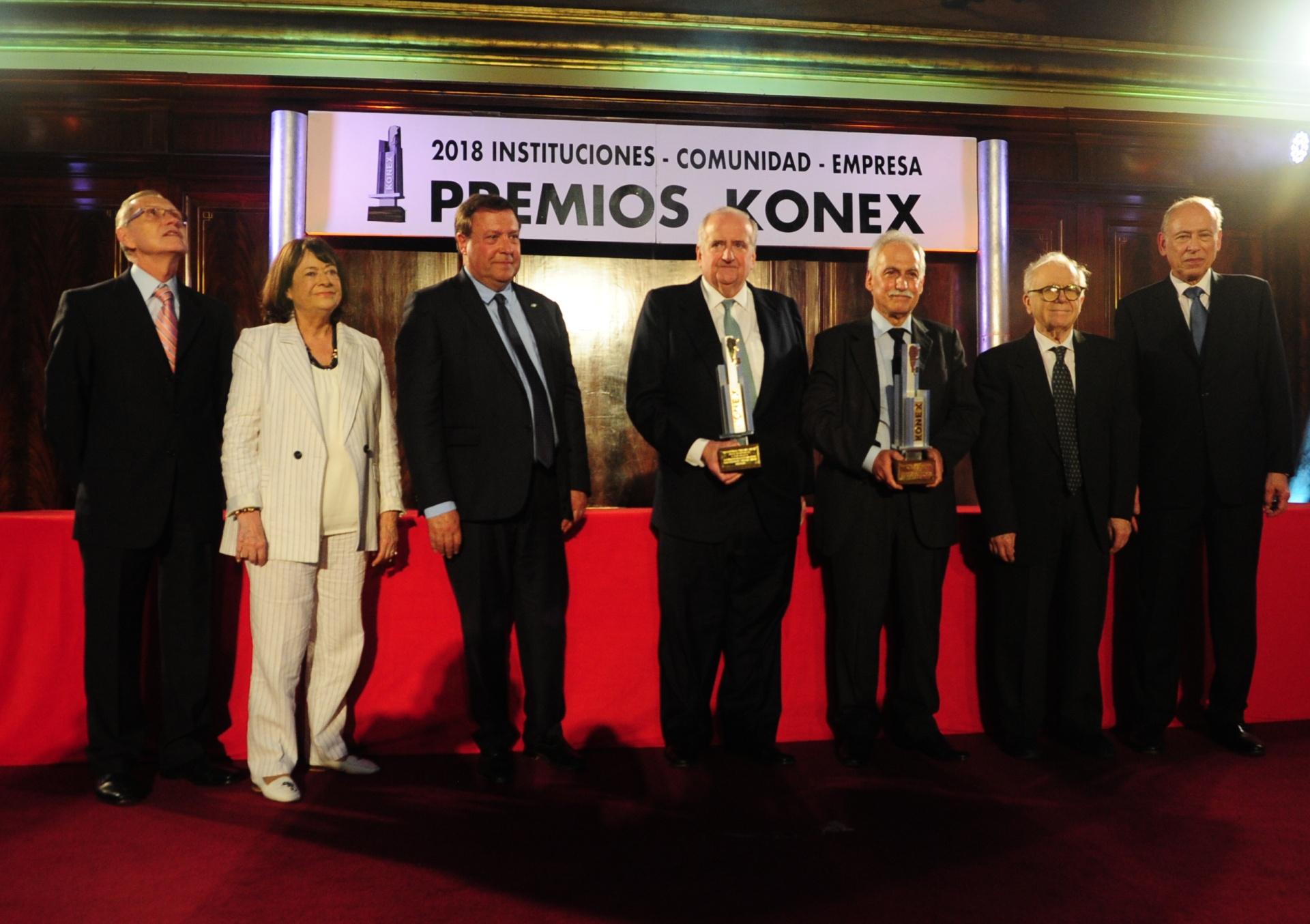 Entre los Konex de Platino, el Gran Jurado seleccionó a las personalidades e instituciones más destacadas de la década en la Argentina, para recibir el Konex de Brillante, máximo galardón que otorga la Fundación Konex. La decisión del Gran Jurado fue que el Konex de Brillante sea compartido por INVAP y por Luis Pagani