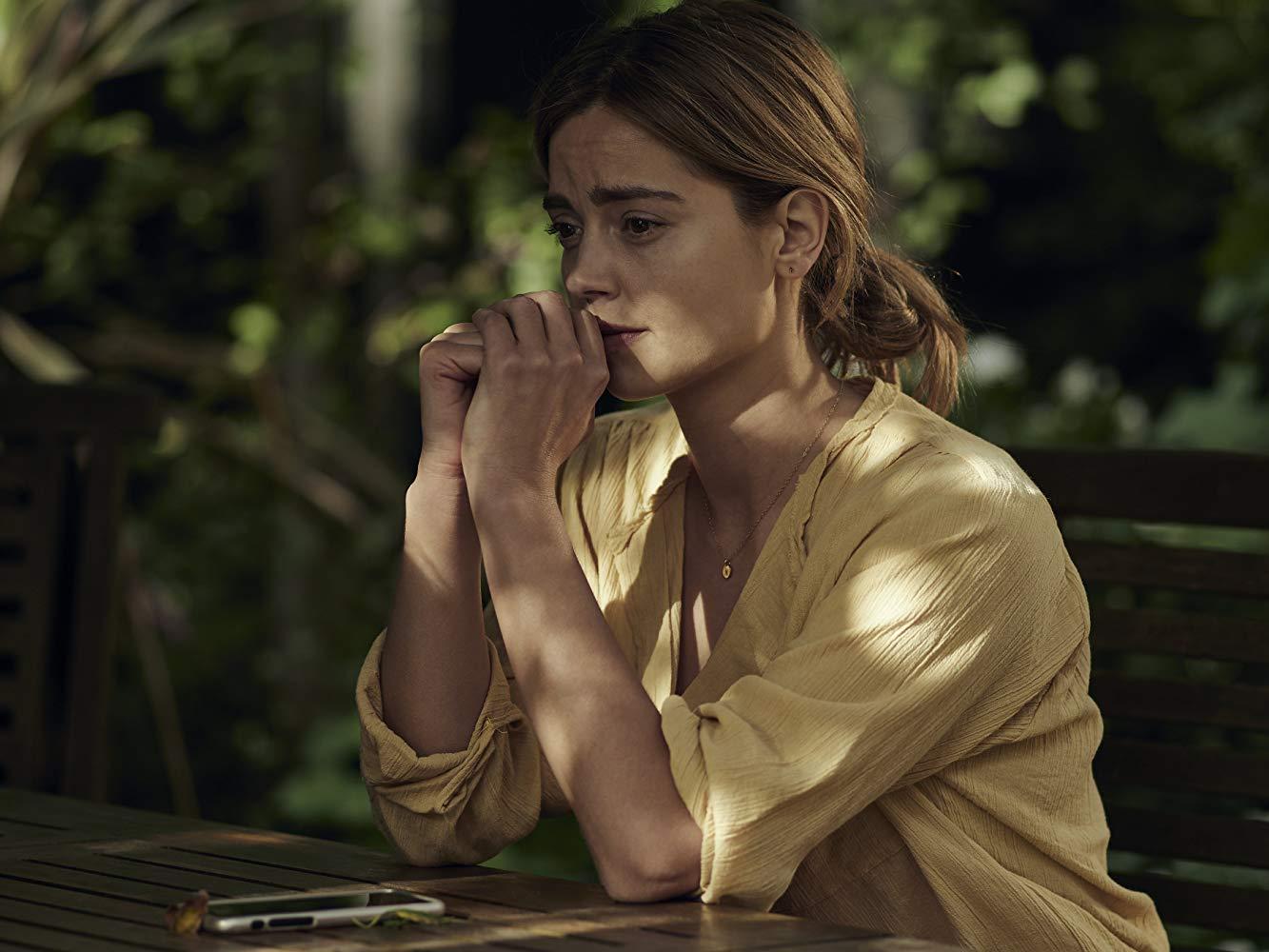 Coleman se tiñó su cabello color rubio para interpretar el rol de Joana.