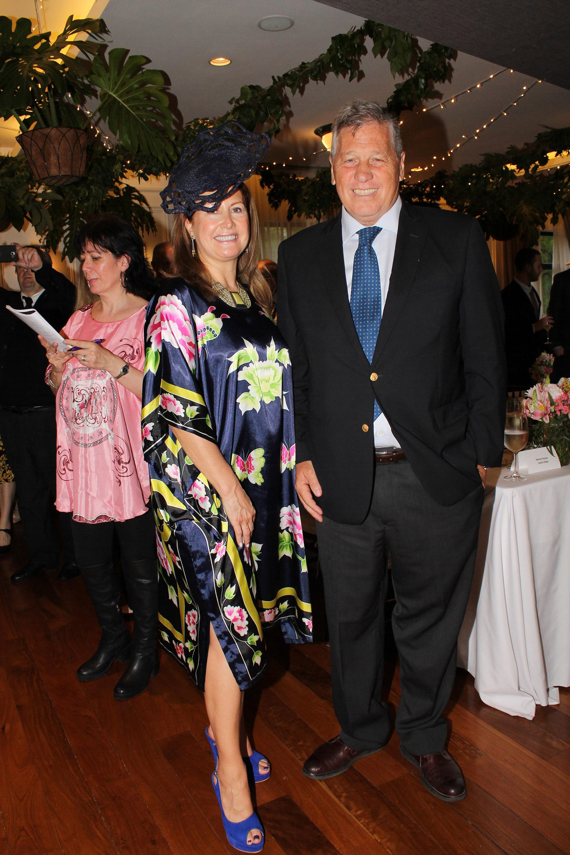 Lili Monsegou y Antonio Bullrich