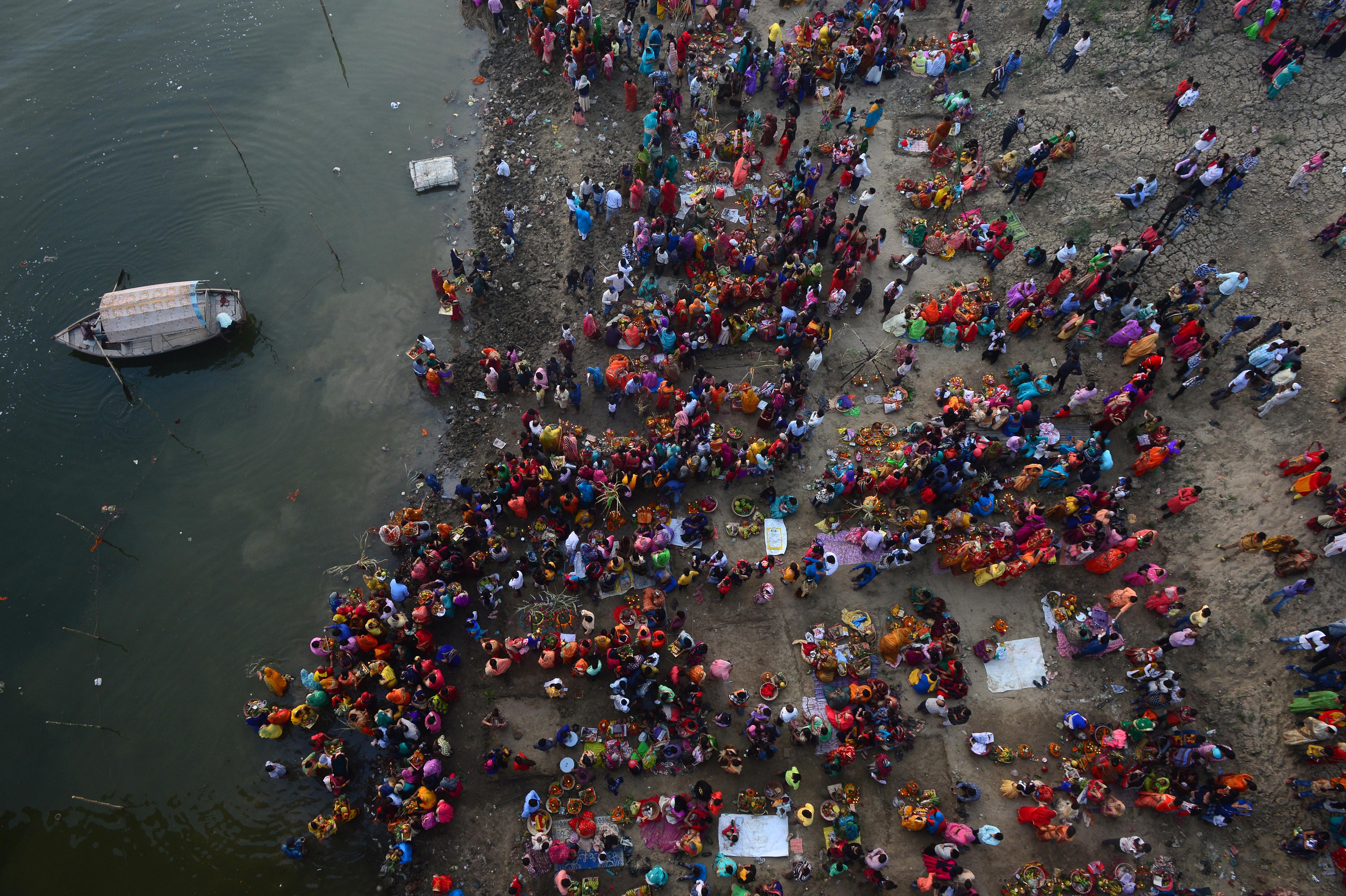 (Photo by SANJAY KANOJIA / AF / AFP)