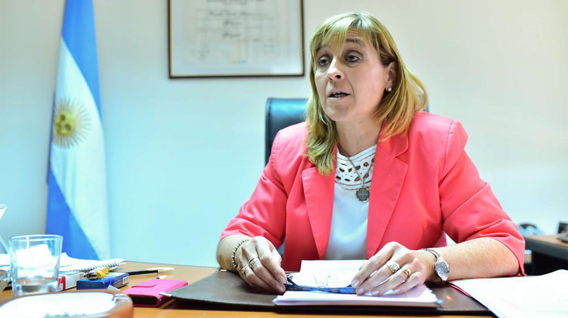 La jueza federal de Caleta Olivia, Marta Yañez