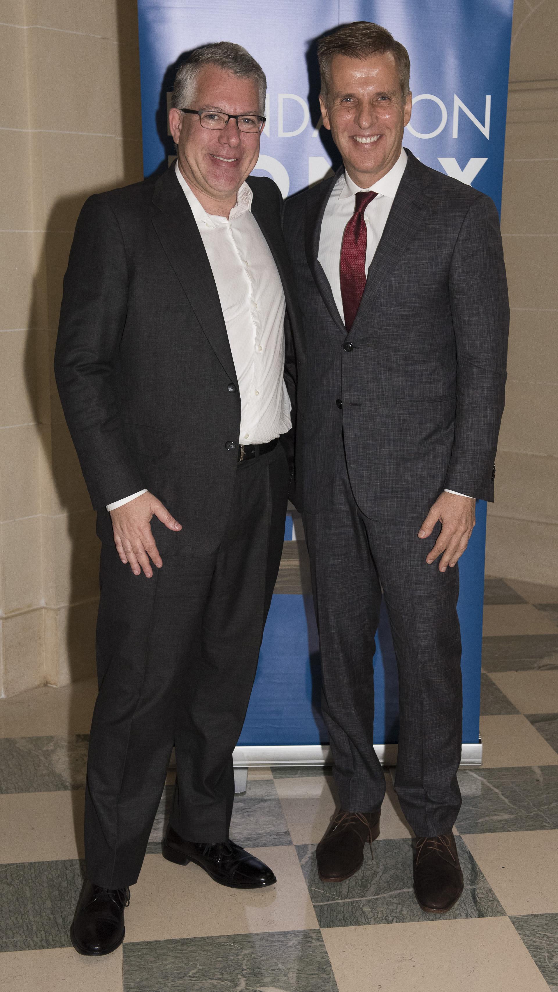 Sergio Kaufman y Martín Redrado