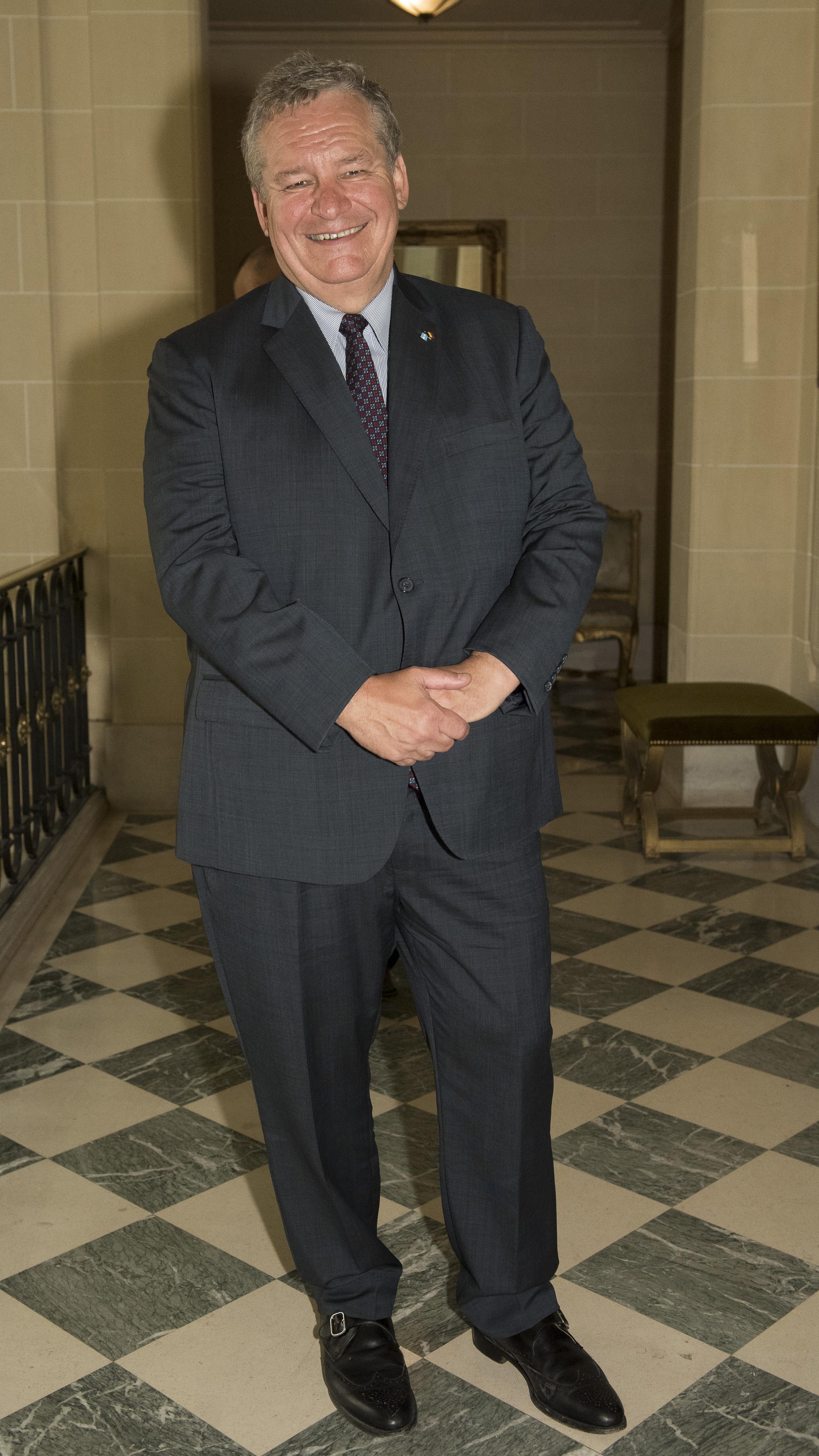 El embajador de Bélgica en la Argentina, Peter Maddens