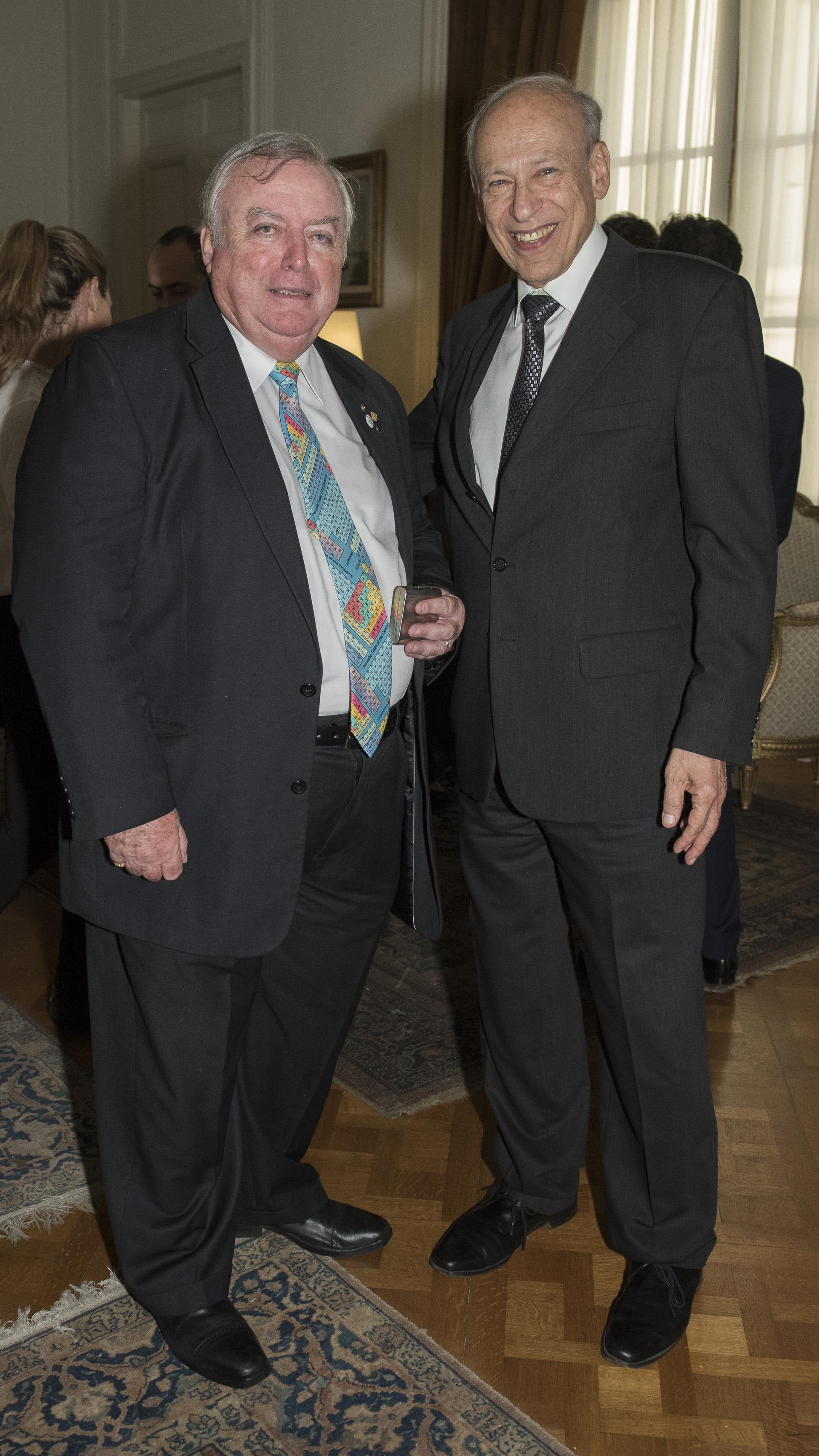 Julián De Diego y Luis Ovsejevich