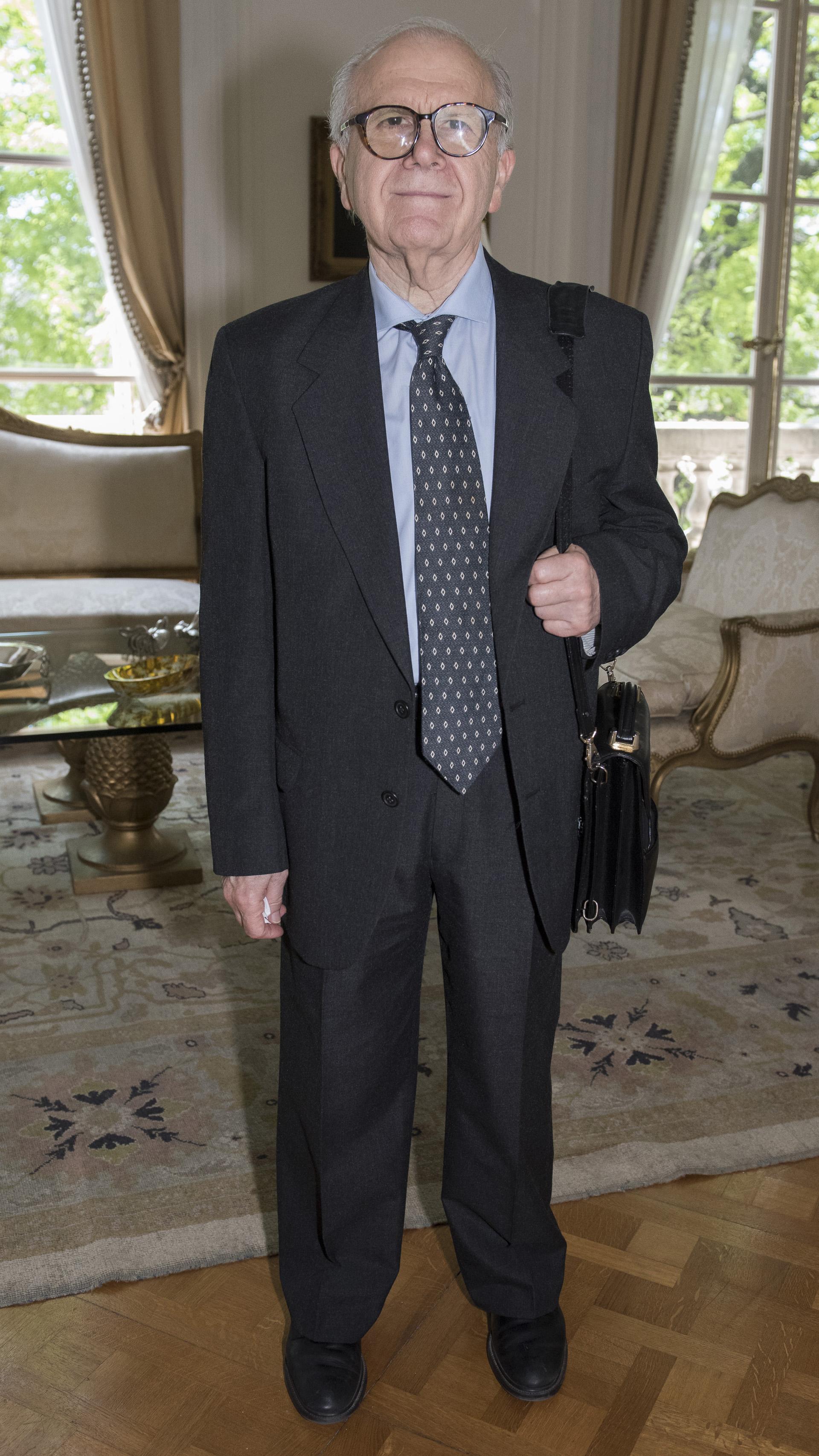 El fundador de INVAP, Conrado Varotto