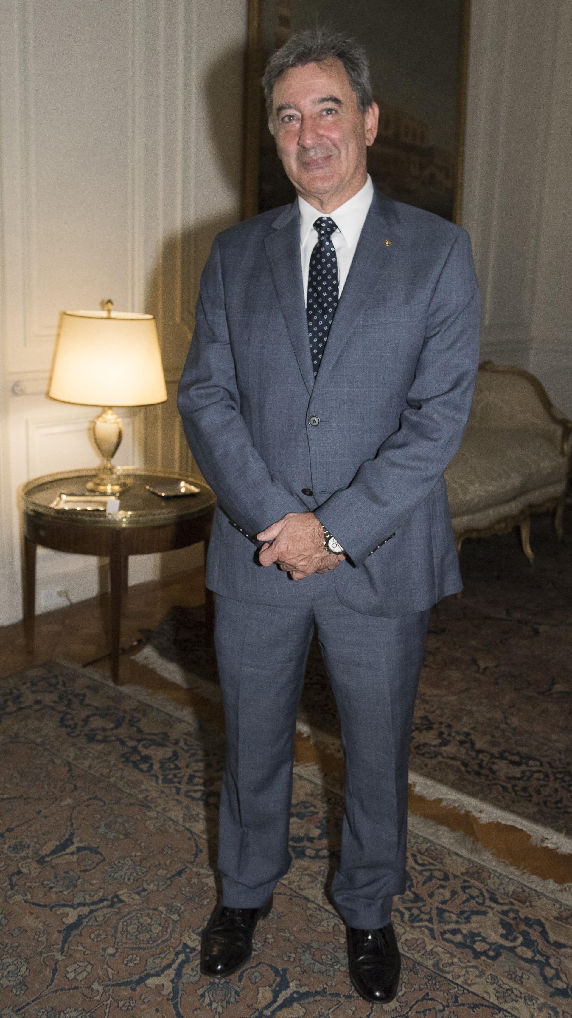 Daniel Herrero, presidente de Toyota Argentina: Konex de Platino en la disciplina Ejecutivos de la Industria