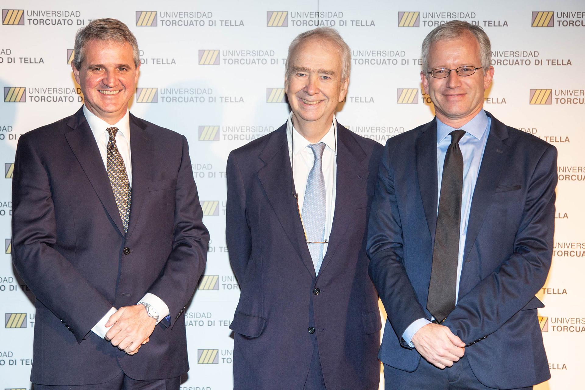 Juan José Cruces, Carlos Franck y Ernesto Schargrodsky