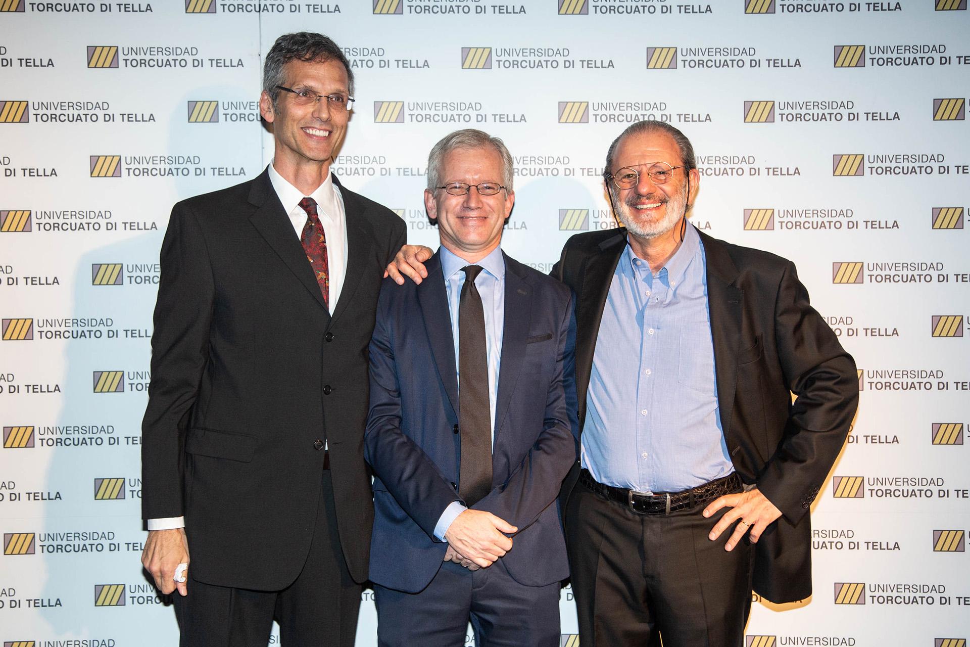 Rafael Di Tella, Ernesto Schargrodsky y Roberto Vivo