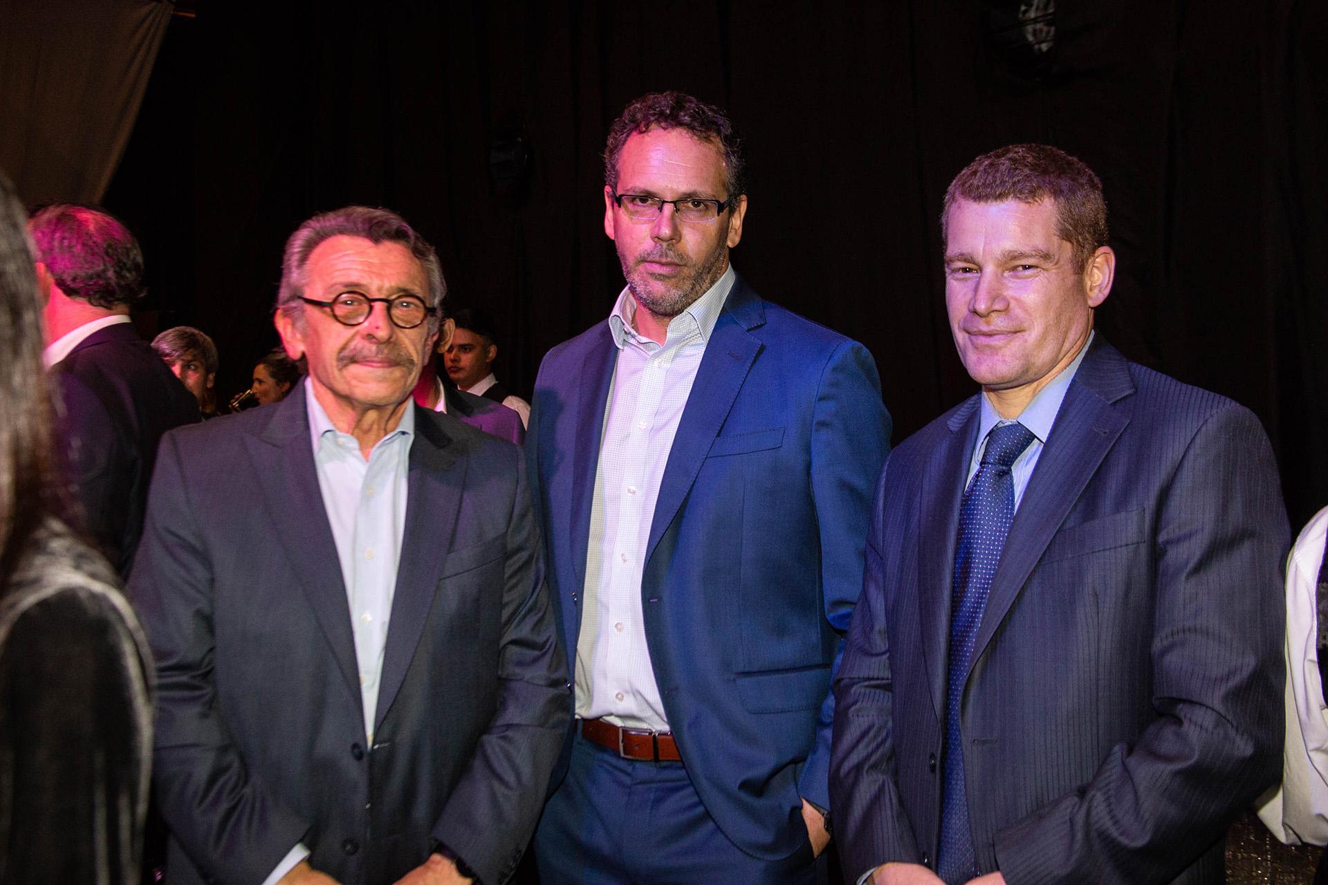Daniel Klainer, Guido Sandleris y Nicolás Merener