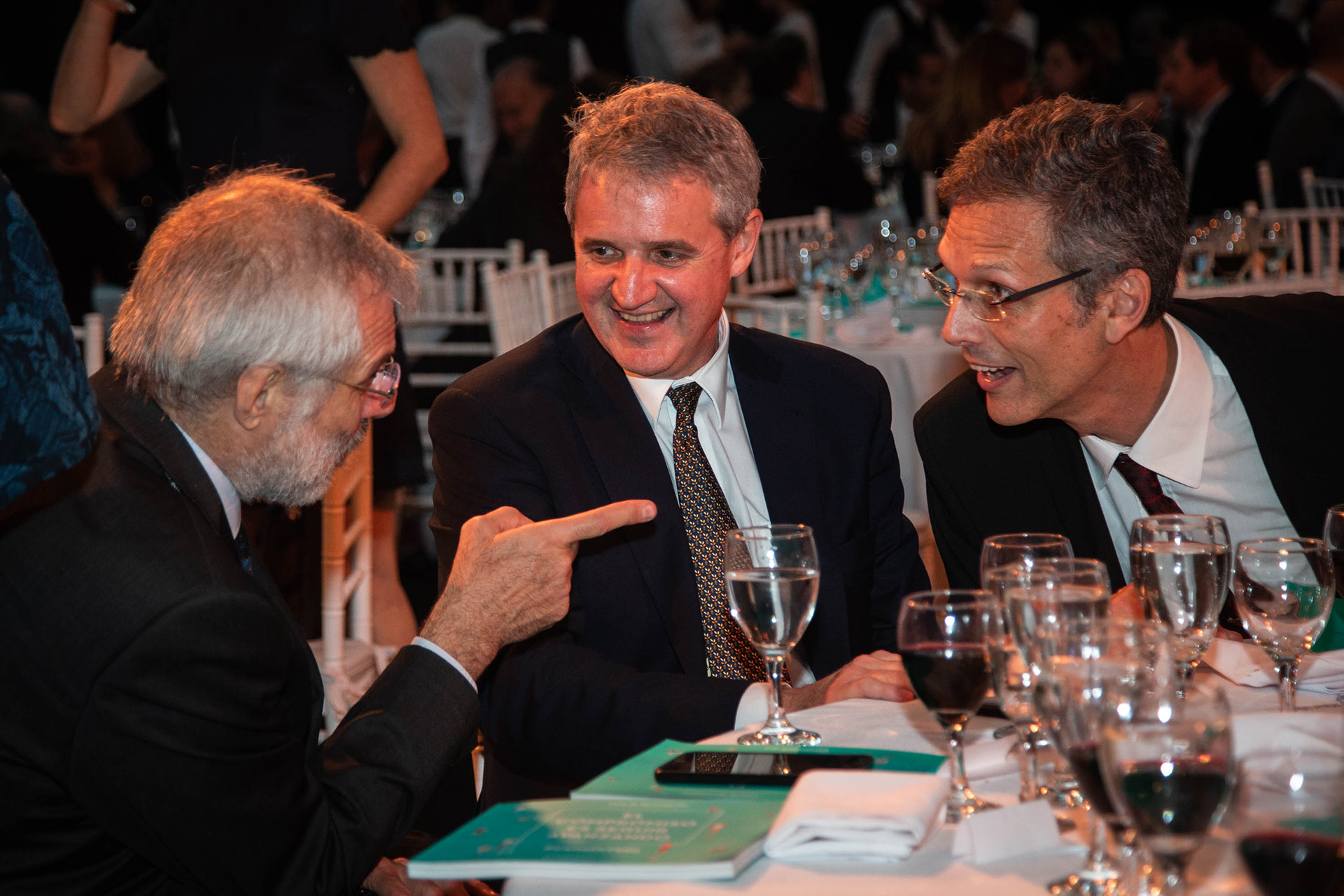 Daniel Perzcyk, Juan José Cruces y Rafael Di Tella