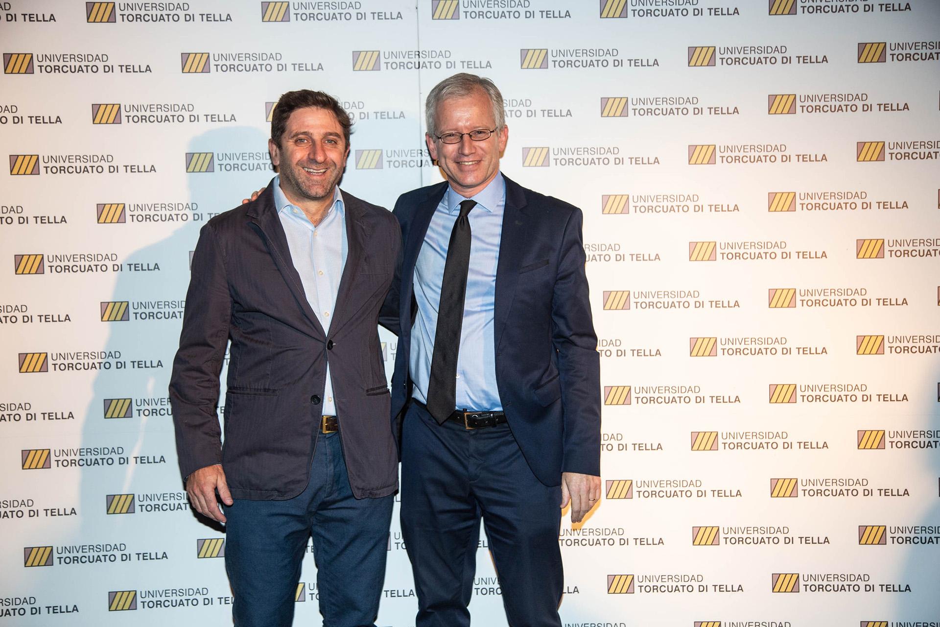 Fernando Straface y Ernesto Schargrodsky
