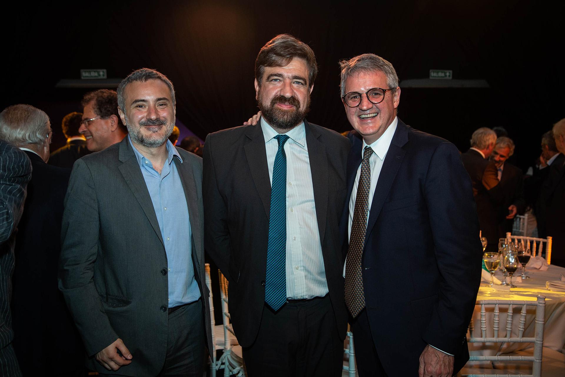 Guillermo Cruces, Hernán De Goñi y Juan José Cruces