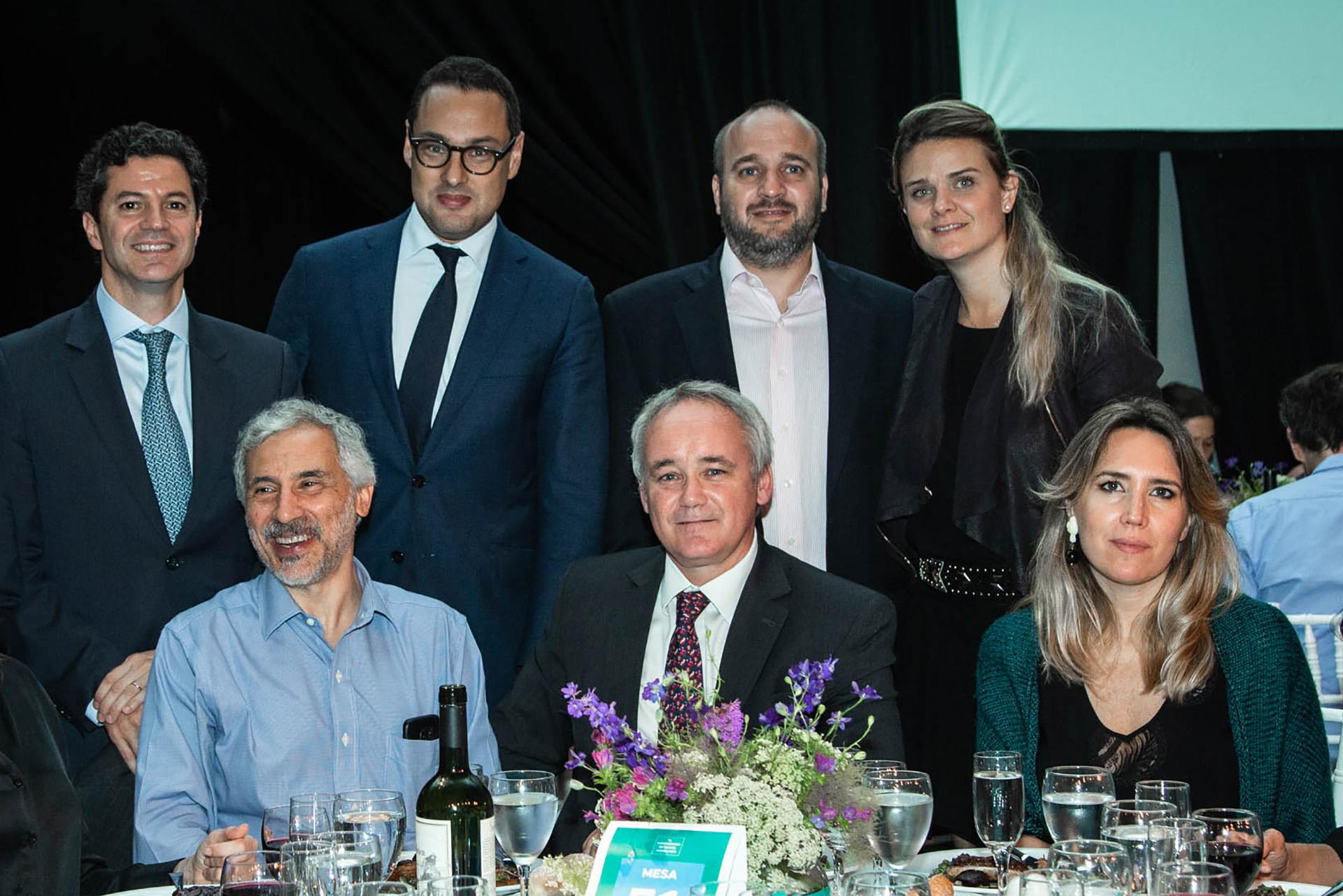Ivan Werning junto a Luciano Laspina, Gustavo Cañonero y Leandro Cuccioli