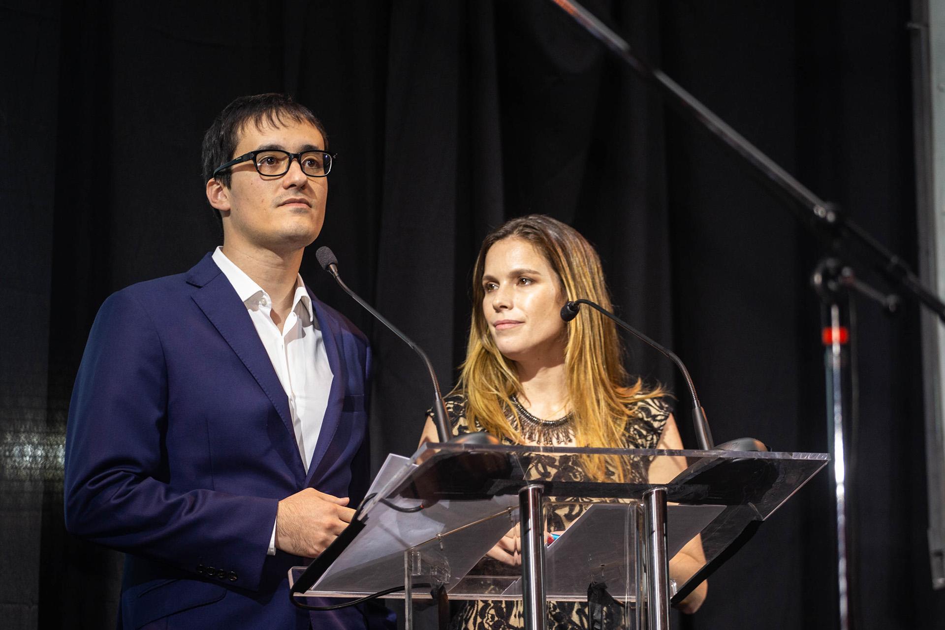 Joaquín Navajas y Guadalupe Dorna