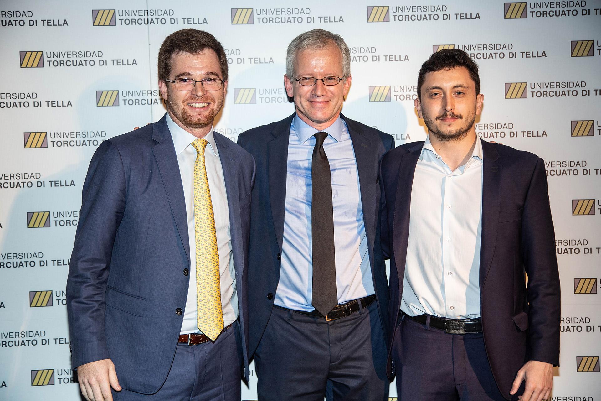 Nicolás Massot, Ernesto Schargrodsky e Iván Schargrodsky