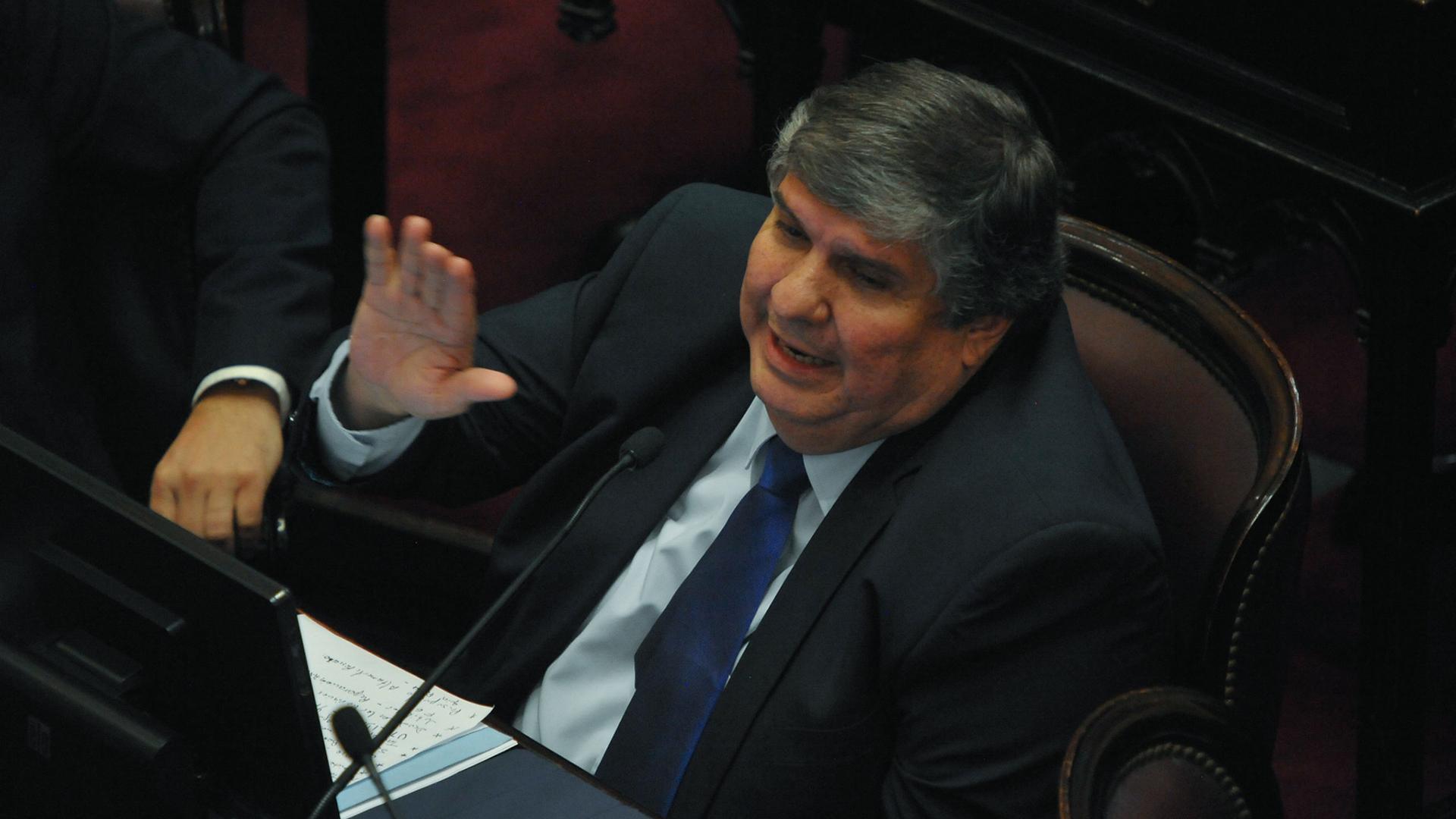 José Mayans, uno de los senadores más críticos por el Fondo Sojero