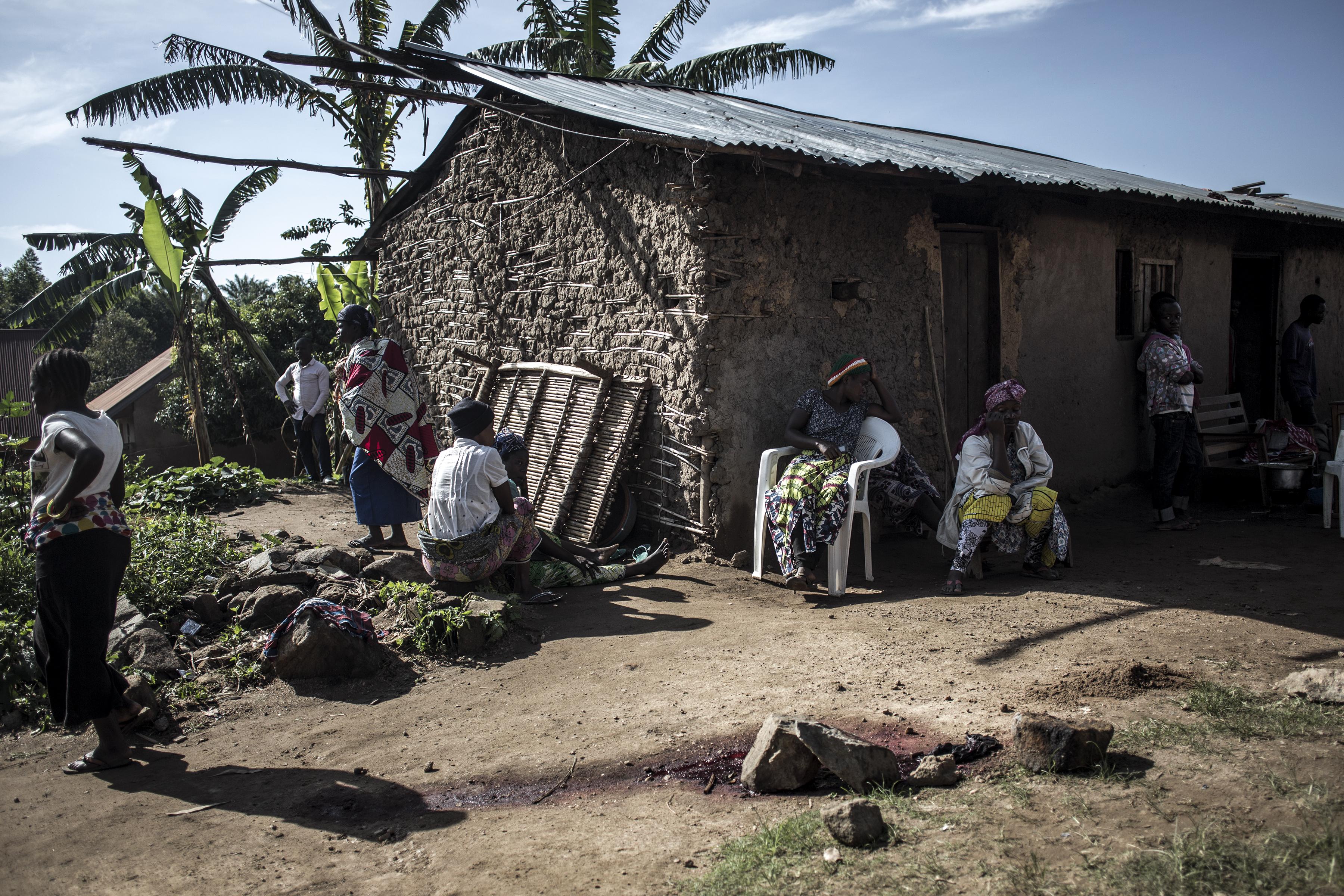 La República Democrática del Congo ha estado afectada por una interminable guerra civil, una creciente inestabilidad política y pobreza extrema (Photo by John WESSELS / AFP)