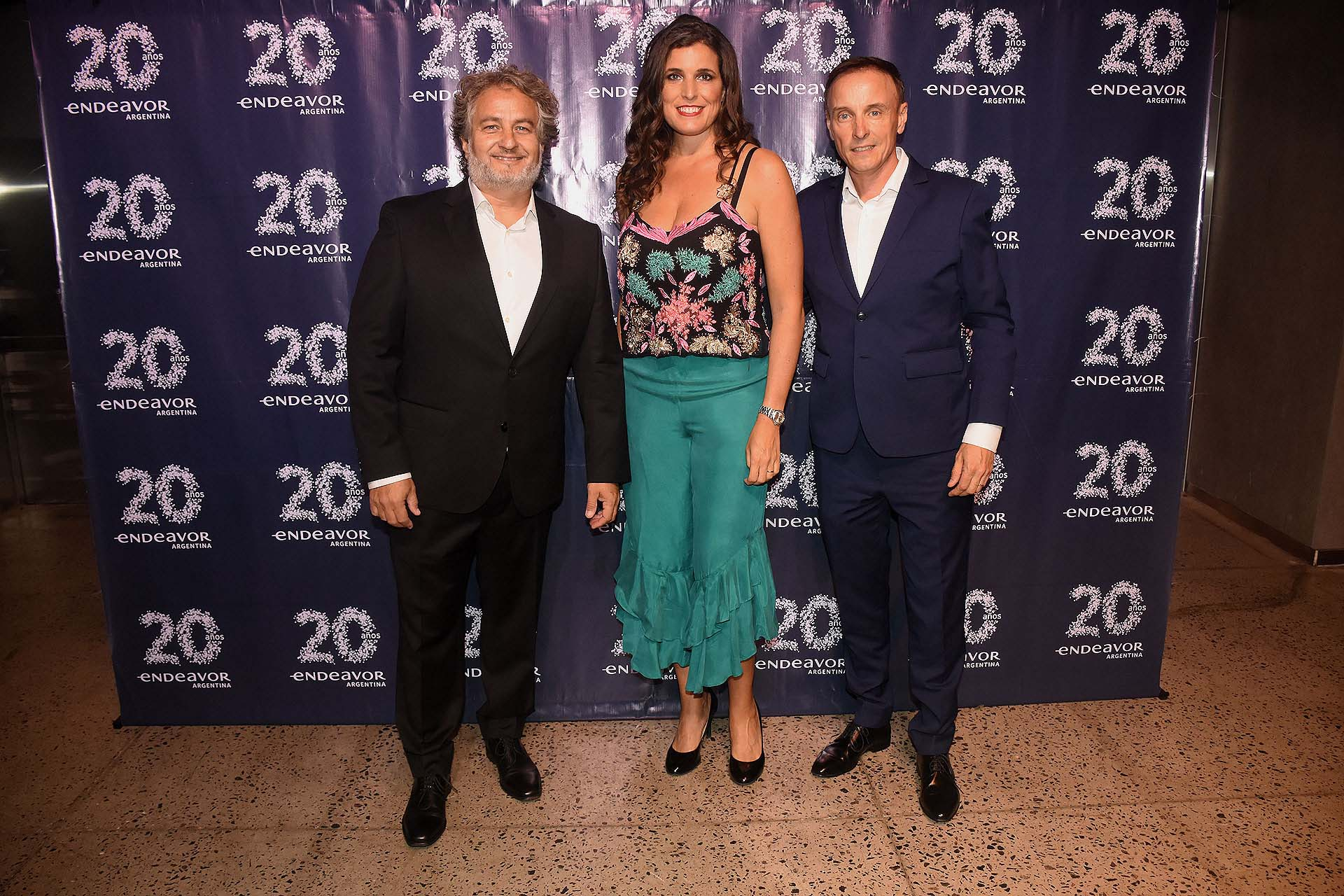 Guibert Englebienne María Julia Bearzi y Mauro Bono, fundador y CEO de Savant