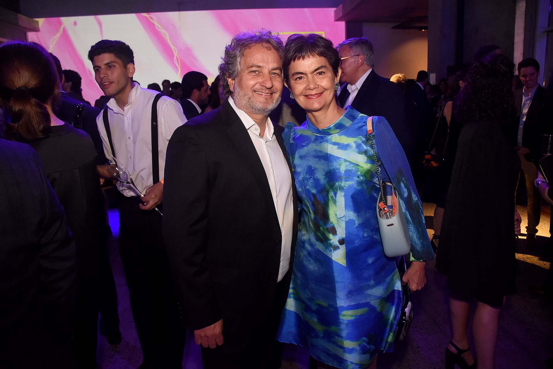 Guibert Englebienne, presidente de Endeavor Argentina, y María Eugenia Estenssoro, ex senadora y cofundadora de Endeavor Argentina.