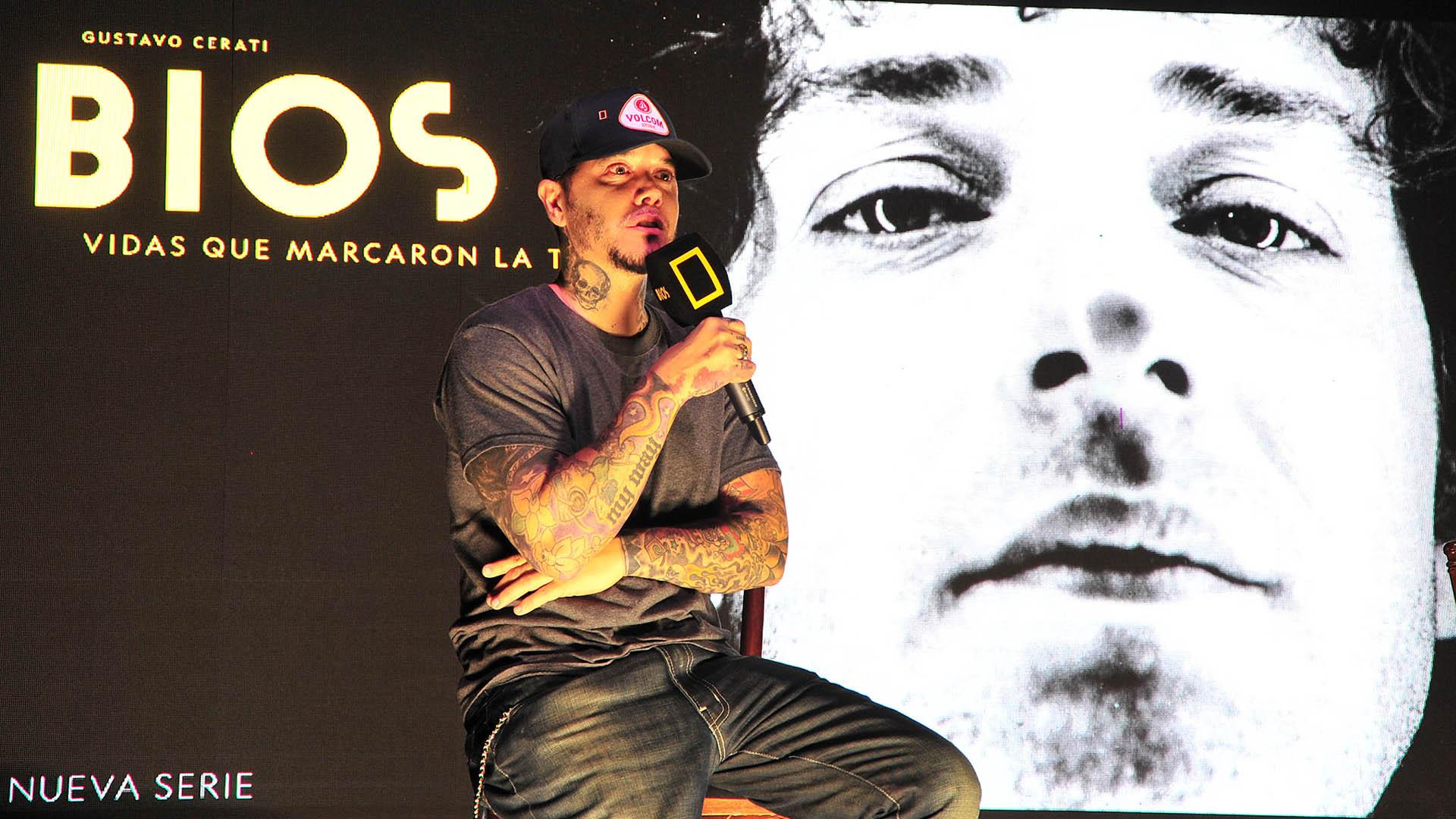 Sebastián Ortega presentó el documental