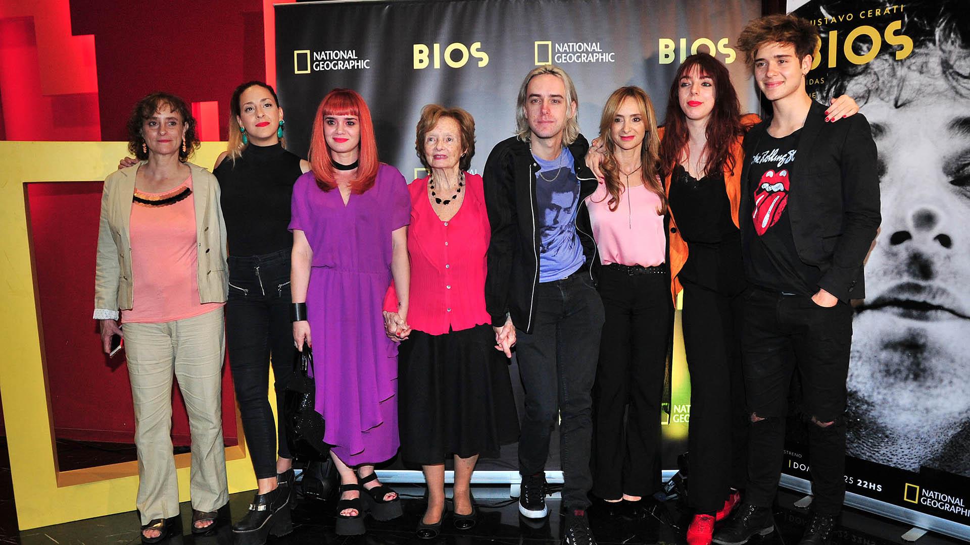La familia de Gustavo Cerati