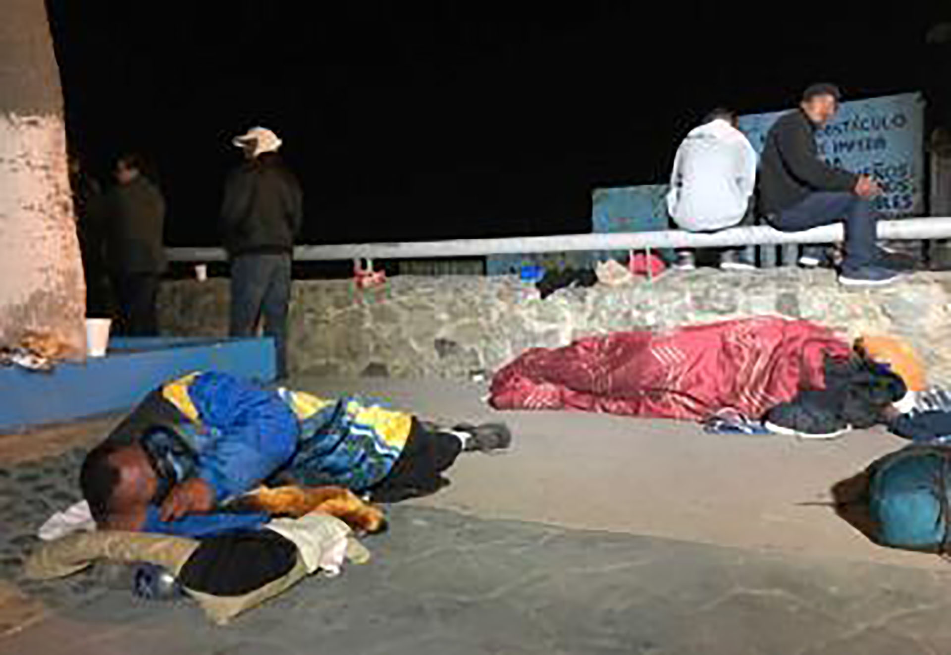 Organizaciones de defensa de los migrantessospechan que más que un problema de capacidad, EEUU pretende con esta política retrasar la inmigración ilegal (Foto: @fronterainfo)