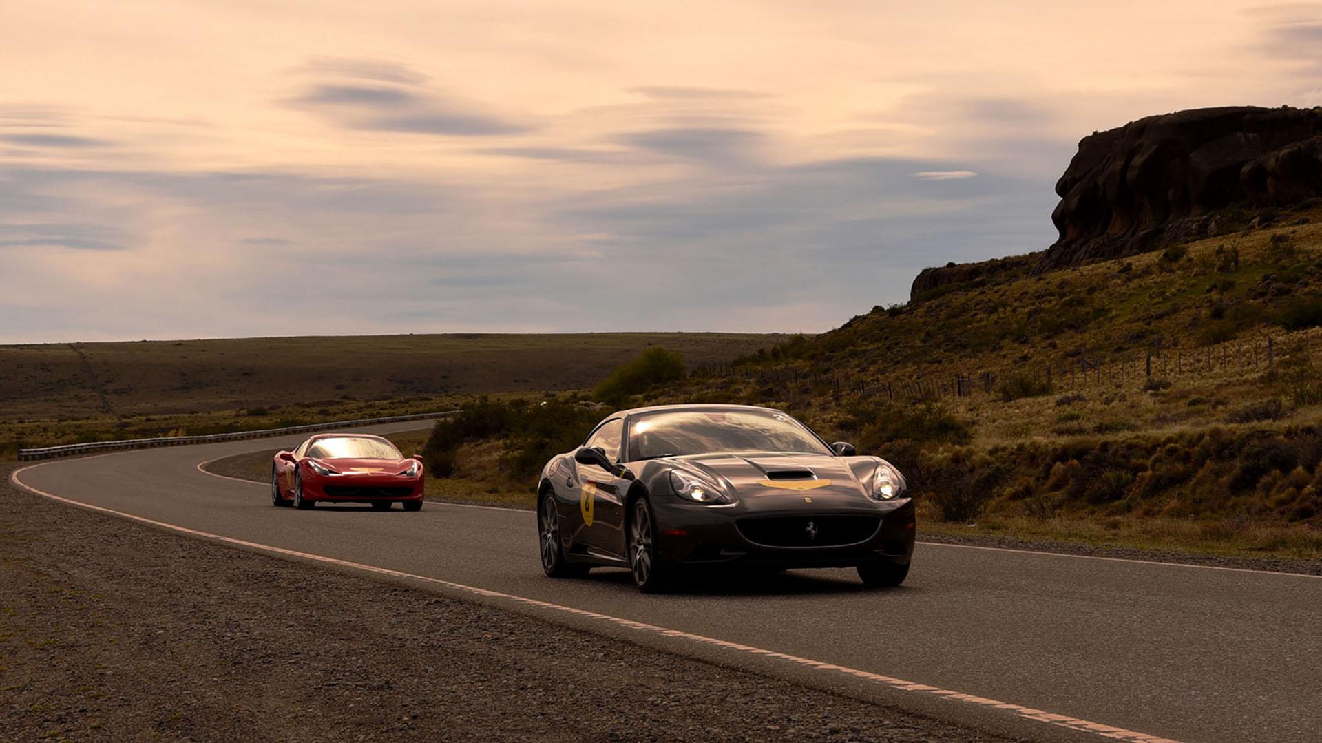 Los modelos California y 458 Italia fueron los más repetidos en la congregación de deportivos Ferrari