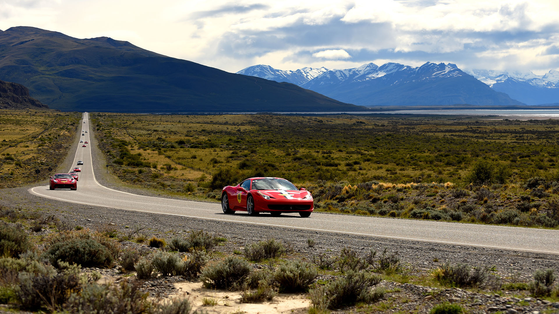 La fiebre Ferrari no conoce fronteras. La marca de culto tiene su nicho de seguidores, propietarios y admiradores en Sudamérica. En la zona más austral del planeta se celebró un nuevo encuentro de fanáticos del Cavallino Rampante
